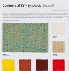 Coolaroo fabrics