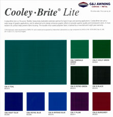 Cooley Brite Lite Fabrics