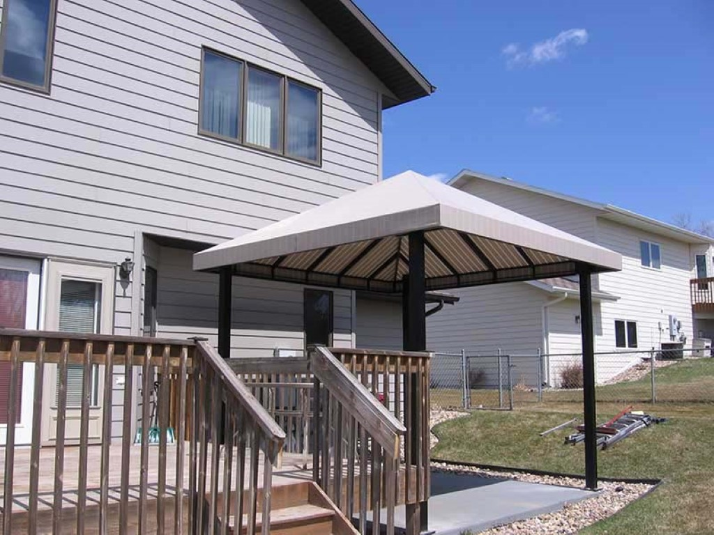 Residential Fabric Awnings - G&J Awnings & Canvas