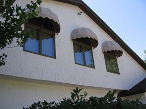 Fabric Dome Awnings