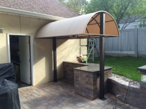 Residential Round top Canopy