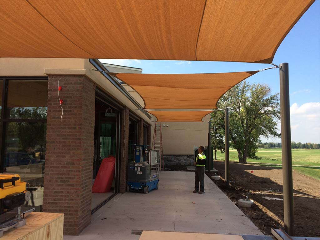 Tension Amp Shade Structures G Amp J Awnings Amp Canvas